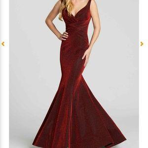 Prom Dress Color Wine